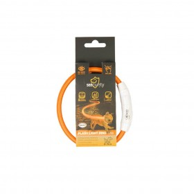 Anneaux lumineux Seecurity USB Nylon Orange