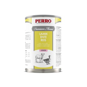 Paté Perro Premium Menue - Junior Agneau, Canard & riz