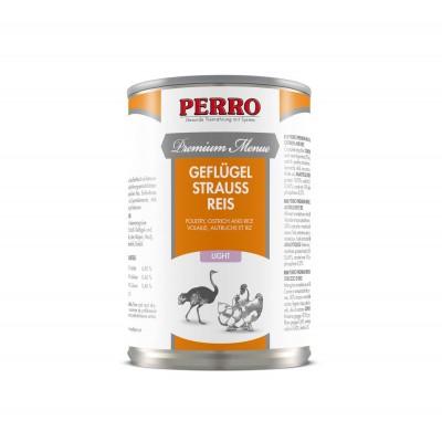 Perro Patée Perro Premium Menue - Light Volaille, Autruche & riz 185070