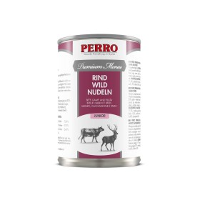 Patée Perro Premium Menue - Junior Boeuf, Gibier & Pâtes --185055