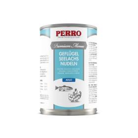 Paté Perro Premium Menue - Adulte Volaille, Poisson & Pâtes
