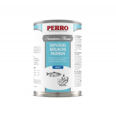 Perro Patée Perro Premium Menue - Adulte Volaille, Poisson & Pâtes 185065
