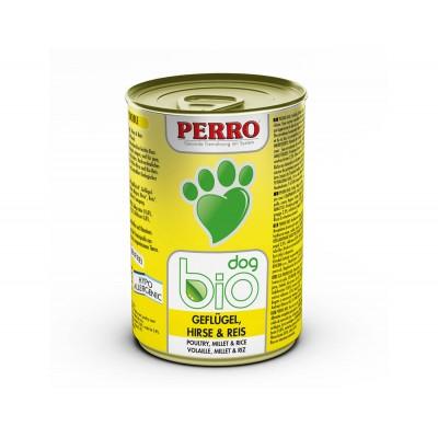 Perro Patée Perro Bio Dog - Volaille, Maïs & Riz 185230