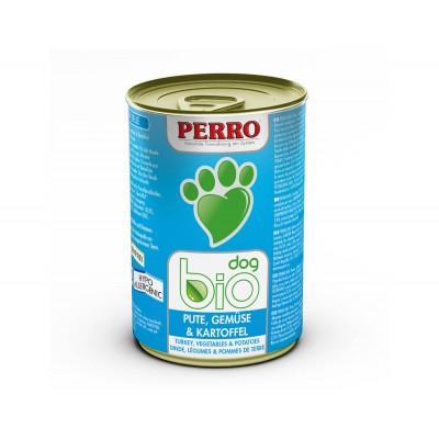 Paté Perro Bio Dog - Dinde, Légumes & Pommes de terre