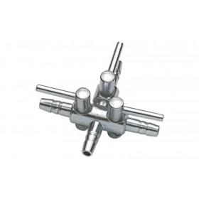 Robinet à air Hobby en métal 4/6 - 3 conduits-Hobby-63350