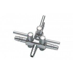 Robinet à air Hobby en métal 4/6 - 3 conduits