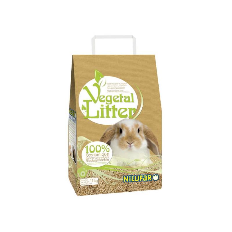 Litière végétale pour rongeurs et chats Nilufar-Nilufar-00000