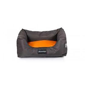 Sofa Boston Dreamaway Marron & Orange-Fabotex-00000